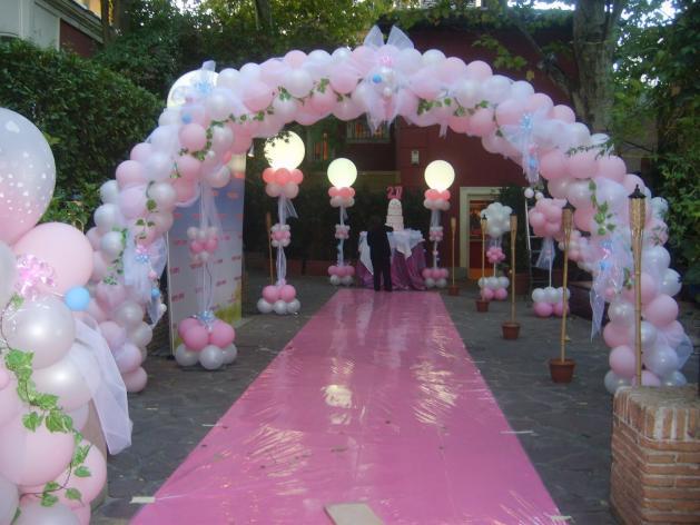 Decorar con globos para bodas - Imagui